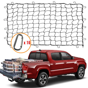 5 X 7 Bungee Cargo Net Stretches To 10 X 14 For Truck Bed Pickup Bed Suv D
