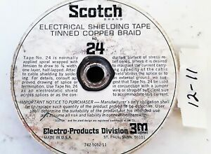 100 Roll Scotch 24 Electrical Shielding Tape 1