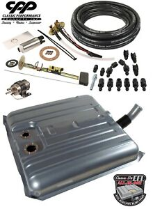 1958 58 Chevy Impala Ls Efi Fuel Injection Gas Tank Fi Conversion Kit 90 Ohm