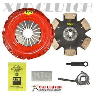 Xtd Stage 3 Miba Racing Clutch Kit 08 14 Vw Gti Eos Jetta Audi A3 2 0l L4 Turbo
