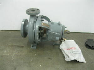 3 X 1 1 2 Durco Flowserve Mk3 Std Ductile Iron Process Pump New Z28 1974