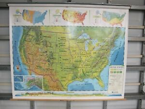 Nystrom Custom World United States Land Cover Combo Map Set 2 Layer 1lc991