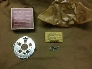1952 1956 Ford Truck V8 Nos Dual Point Distributor Breaker Plate Kit