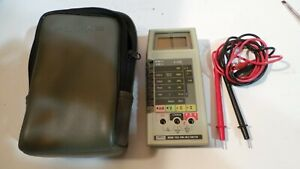 Fluke 8060atrue Rms Multimeter With Case And Leads L k