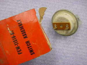 Ford Mercury 1956 1958 Nos Starter Safety Switch