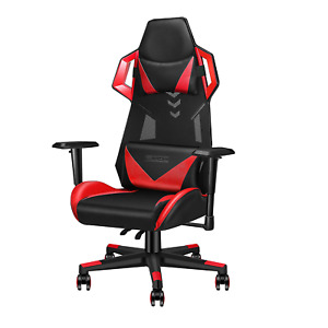Luxmod Office Gaming Chair High Back Leather Swivel Computer Chair Ergonomic