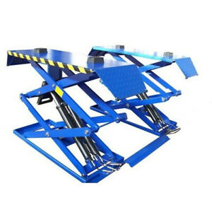 Popular Super thin Full Rise Scissor Car Lift Use For Car Lifting