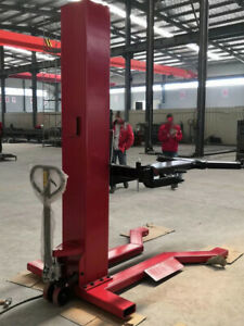 Movable Single Post Car Lift With Manufacturer s Direct Sales