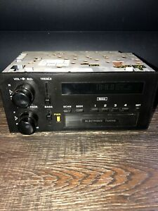 Vintage Delco Gm Am Fm Car Auto Stereo Radio Model 16129924 Electronic Tuning