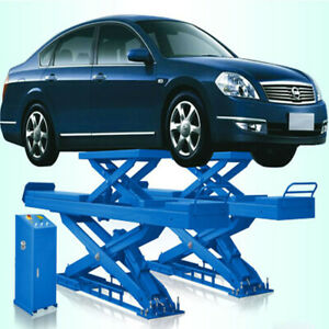 Popular Type Of Car Scissor Lifts With Second Lifting Model Name sp m3500
