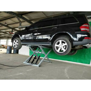 Small Portable Scissor Car Lift For Home Garage Load 2700kgs Model Sp606