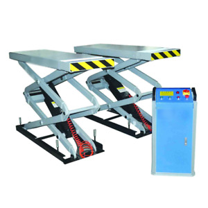 In Ground Scissor Car Lift With Extend Platform Sp K3000