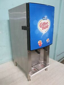 silver King H d Commercial Refrigerated 2 Flavors Coffee Creamer Dispenser