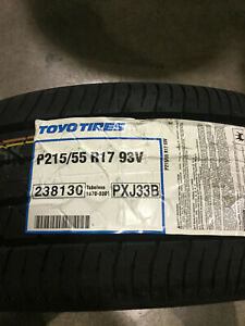 4 New 215 55 17 Toyo Proxes J33 Tires