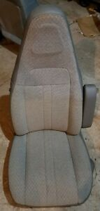1997 To 2018 Chevy Gmc Van Passenger Side Gray Cloth Bucket Seat