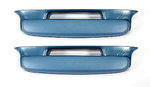 1957 Chevrolet Arm Rest Car Belair Cars 1 Pair Blue