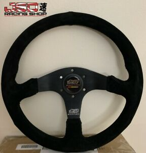 Jdm Mugen Power Honda Steering Wheel Momo Buckskin 350mm Gn Civic Typer