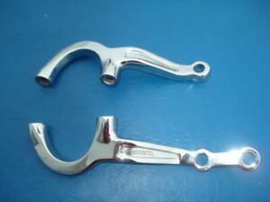 Chrome Steering Arms For Early Ford 5 Dropped Axle Pete Jakes 1107dc