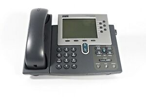 Cisco 7960g Unified Ip Phone Voip Phone Poe Business Telephone cp 7960g