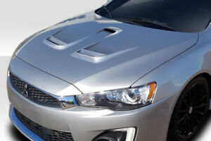 Duraflex D Spec Hood 1pc For 2008 2017 Lancer Lancer Evolution 10