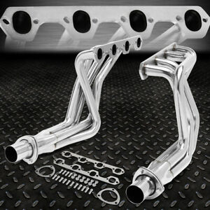 For 69 79 Ford F100 5 0l Rwd 302 Pair Stainless Steel Exhaust Manifold Header