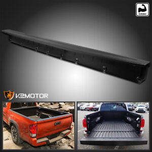 For 2016 2019 Toyota Tacoma Black Tailgate Molding Cap Protector Spoiler Cover