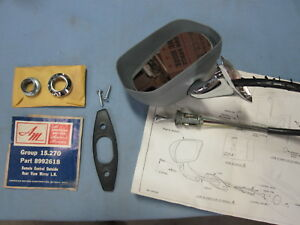 Nos 1970 1971 Amc Rebel Machine Matador Ambassador Rear View Mirror 8992618