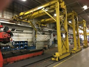 5 Ton Pittsburgh Single Leg Single Girder Gantry Crane Yoder 67228