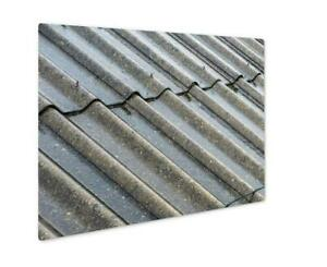 Metal Panel Print Prague Streams Of Rain Water Pour Off Corrugated Roof