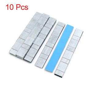 2 1oz Adhesive Back Wheel Balance Weights Strips For Motorcycle 134 X 18mm 10pcs