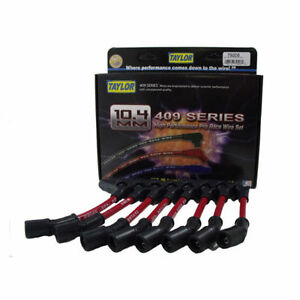 Taylor Cable 79206 409 Pro Race 10 4mm Spark Plug Wires Chevy Truck 6 0l