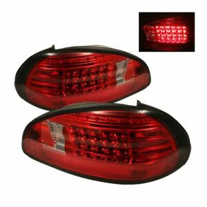 Spyder Auto Led Tail Lights red clear 97 03 Pontiac Grand Prix 5007162