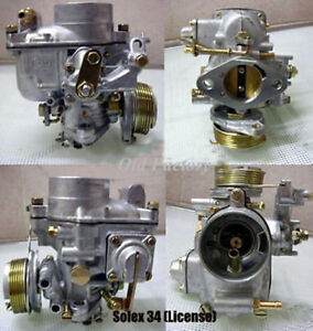 Peugeot 203 Carburetor 34 Pbic Solex Type New Recently Made