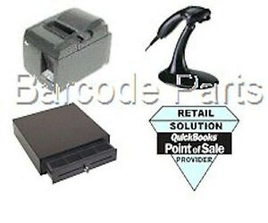Quickbooks Pos 18 Citizen Hardware Pos Bundle Printer Scanner Cash Drawer
