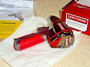 New Craftsman 3 8 Air Pistol Grip Impact Wrench model19981