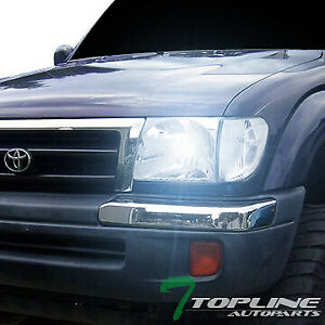 Topline For 1997 2000 Toyota Tacoma 2wd 4wd 8000k Hid Xenon Chrome Headlights