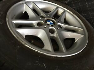 Bmw Oem 16 Inch Wheels And Tires