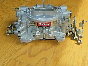 Edelbrock Performer 1405 Carburetor 600 Cfm Manual Choke 842