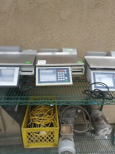 10 Scales Mettler Toledo Smart Touch Commercial Deli Scale With Printer