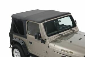 King Premium Replacement Soft Top Without Upper Doors Jeep Wrangler Tj 1997 200
