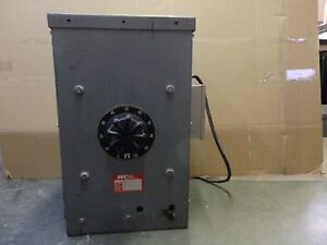 Pacific Power Variable Transformer 1 Phase Input 240v Output 0 280v 28 Amps a6