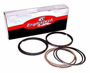 Moly Piston Rings Chevy 2 2l Ecotec Enginetech 2002 2008 Std