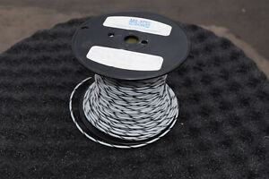 White black 12 Awg Wire Ethylene 350 Tetrafluoroehtylene Tefzel M22759 16 12