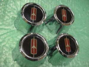 Oldsmobile Cutlass 1985 1987 Nos Rally Wheel Center Caps
