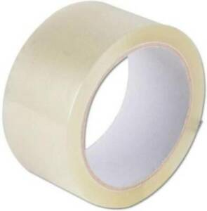 Clear Packing Tape Refill Rolls For Shipping Moving Carton Packaging Box Roll