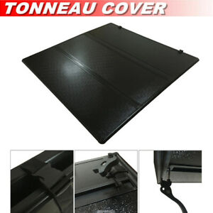 For 2004 2013 Ford F 150 6 5ft 78in Bed Lock Tri fold Hard Solid Tonneau Cover