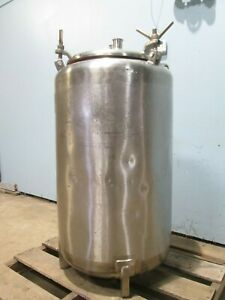 letsch H d Commercial Approximately 45gal Ss Pressurize Reactor Tank