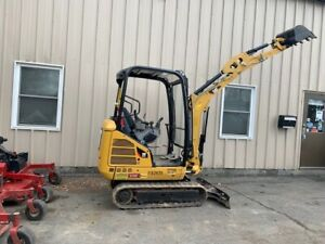 Cat 301 7d Mini Excavator Rubber Track Only 840 Hours Ready To Work Today