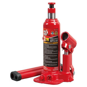 Hydraulic Car Jack Lift Portable Vehicle Floor Bottle Stand With 2 Ton Capacity