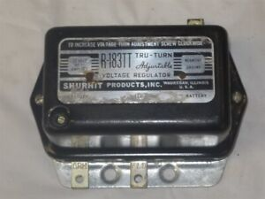 56 57 58 59 60 Desoto Dodge Chrysler Adjustable Voltage Regulator